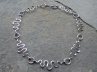 Seven Section Hammered Wire Collar